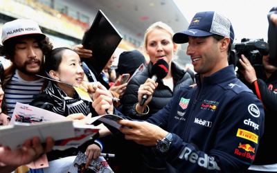 Formula One seals double deal to boost race experience