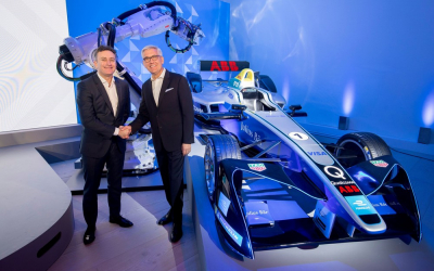 Formula E confirms ABB as title sponsor