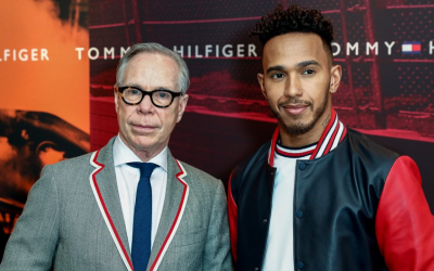 Lewis Hamilton signs global deal with Tommy Hilfiger