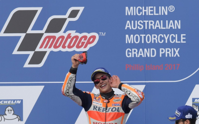 MotoGP's Australian round backed by Michelin